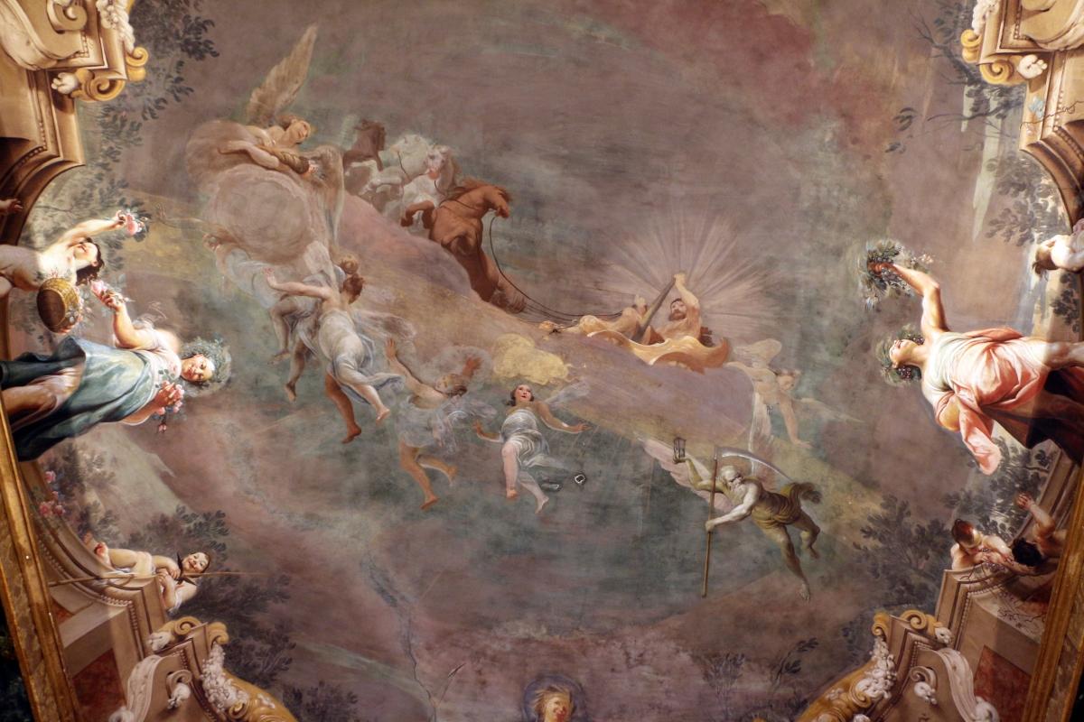 Giuseppe maria crespi, trionfo di ercole, 1691-1702 ca., sala delle stagioni di pal. pepoli 06 - Sailko - Bologna (BO)
