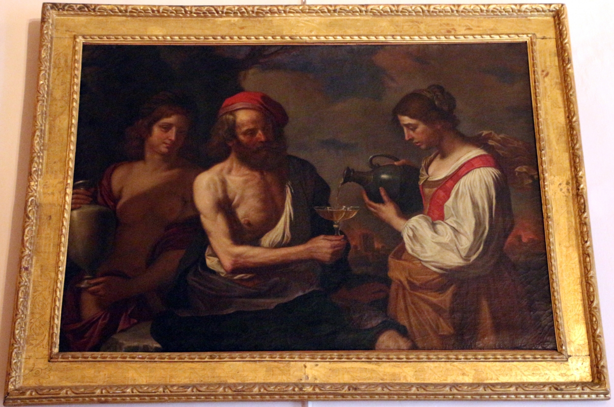 Guercino (bottega), loth e le figlie - Sailko - Bologna (BO)