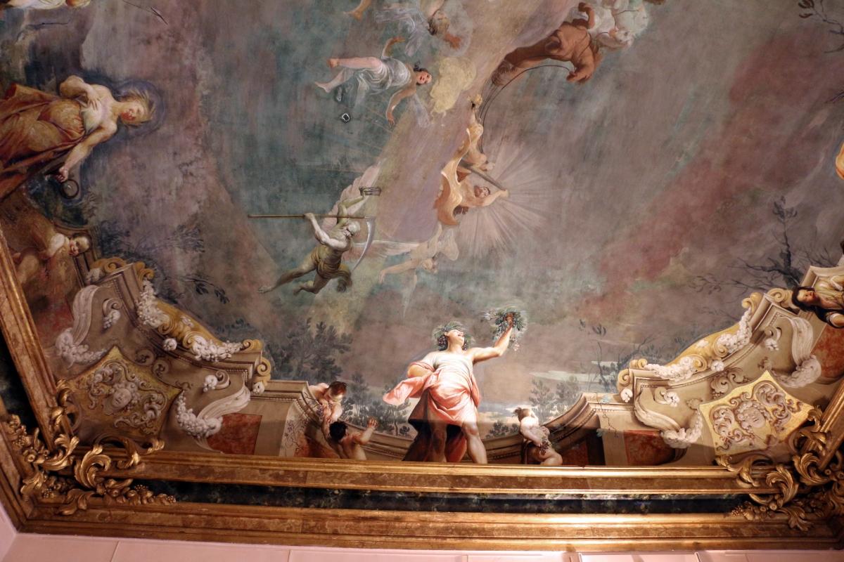 Giuseppe maria crespi, trionfo di ercole, 1691-1702 ca., sala delle stagioni di pal. pepoli 01 - Sailko - Bologna (BO)