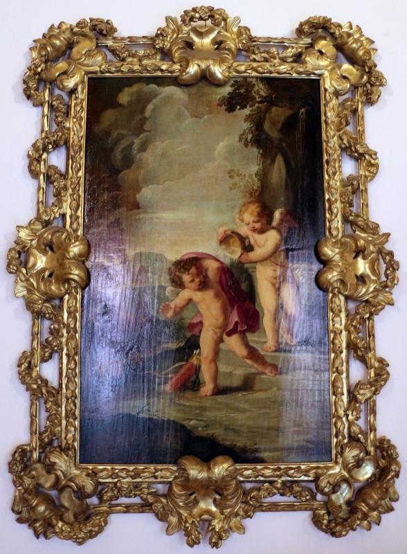 Giovan francesco gessi (attr.), amorini - Sailko - Bologna (BO)