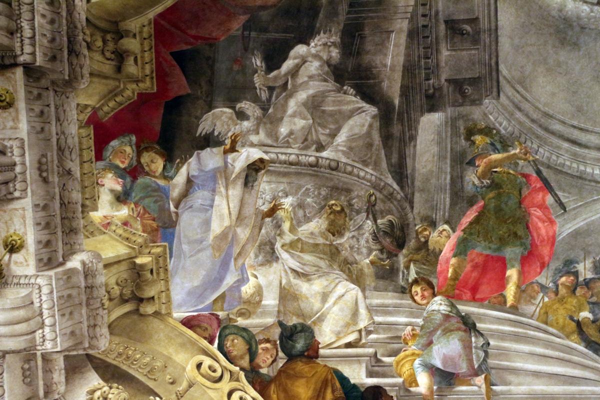 Donato creti, alessandro taglia il nodo gordiano, 1708-10, palazzo pepoli 04 - Sailko - Bologna (BO)