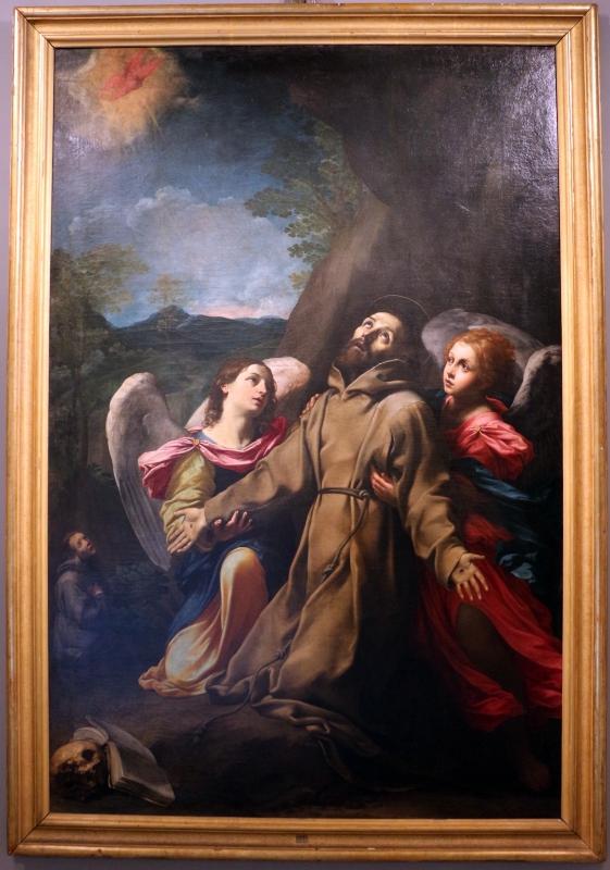 Giovan francesco gessi, san francesco riceve le stimmate, 1620-25, dai ss. narborre e felice - Sailko - Bologna (BO)