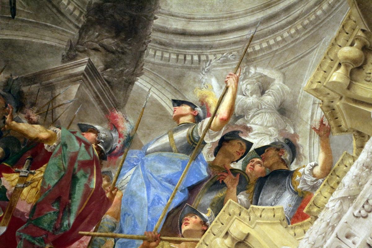 Donato creti, alessandro taglia il nodo gordiano, 1708-10, palazzo pepoli 08 - Sailko - Bologna (BO)