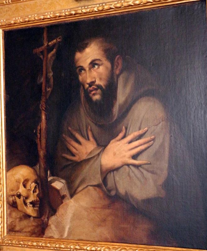 Bartolomeo passerotti, san francesco in adorazione del crocifisso, 02 - Sailko - Bologna (BO)