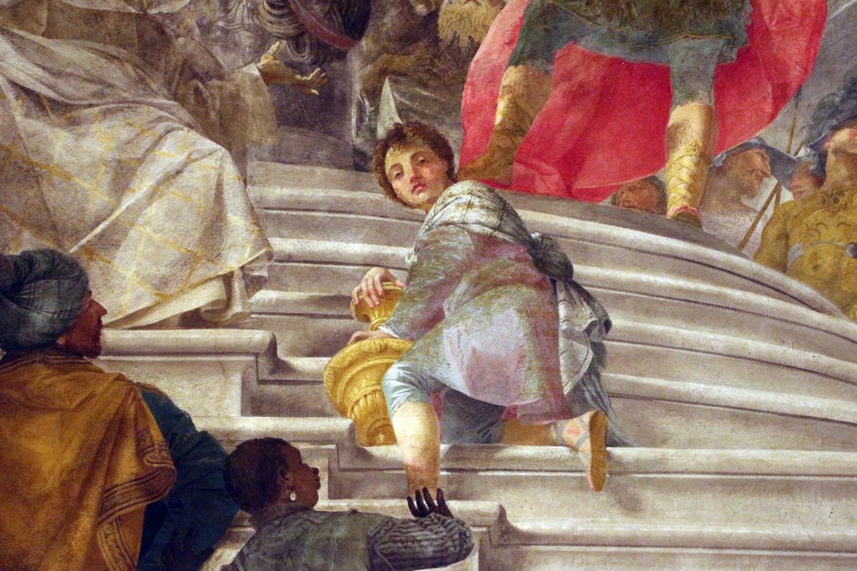 Donato creti, alessandro taglia il nodo gordiano, 1708-10, palazzo pepoli 06 - Sailko - Bologna (BO)