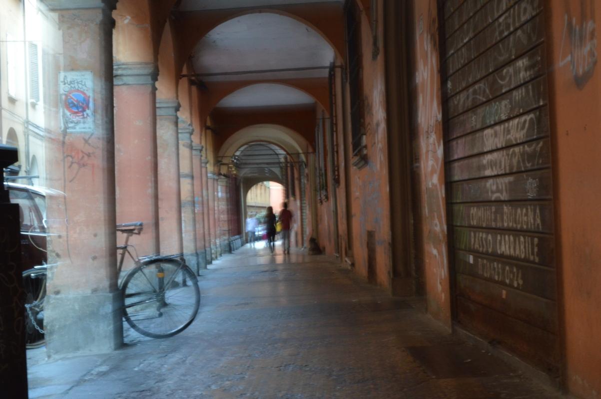 Passeggiata tra i portici - Alfredo Di Maria - Bologna (BO)