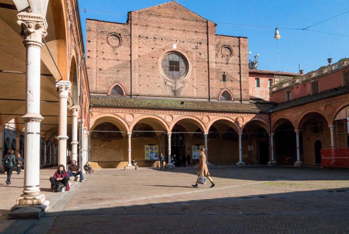 Portico e Chiesa dei Servi - Ugeorge - Bologna (BO)