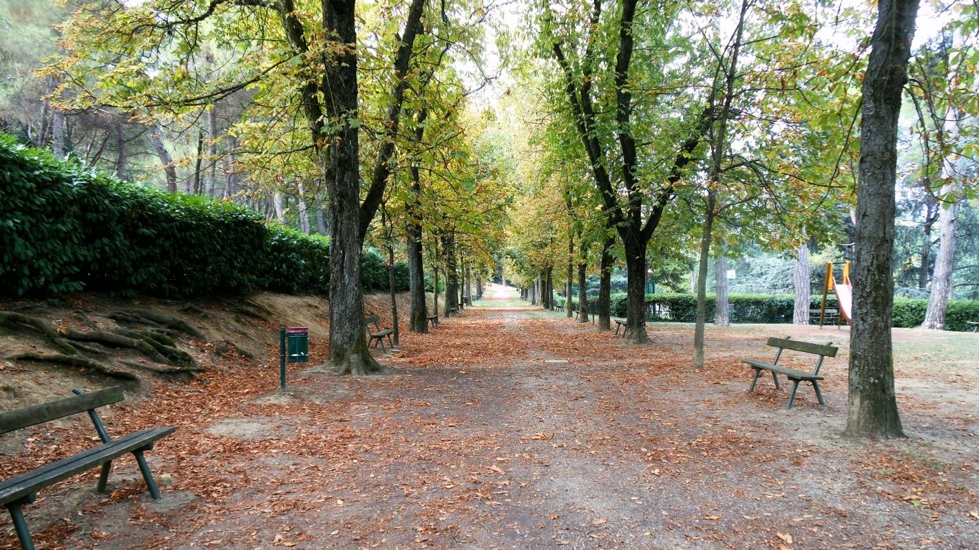 Il parco dietro la Villa - Lelleri - Bologna (BO)