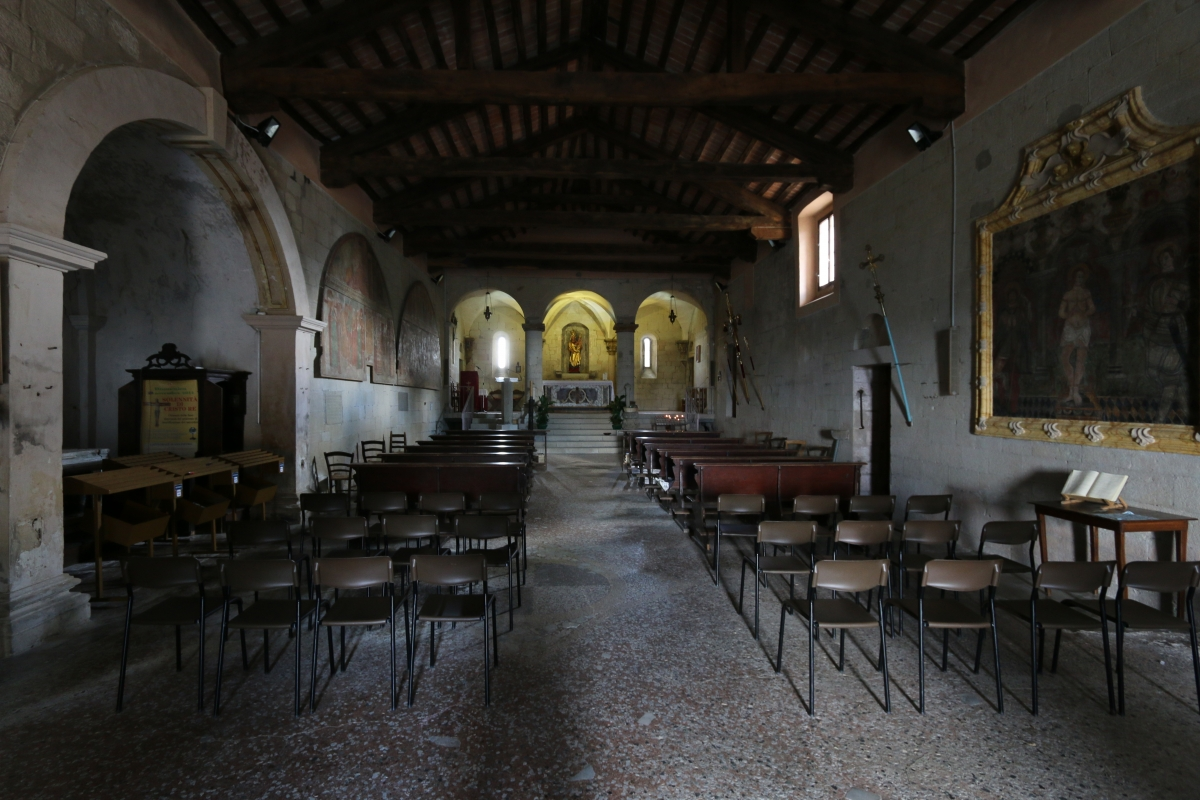 Santuario della Beata Vergine - vista interna - Stefano Giberti - Grizzana Morandi (BO)