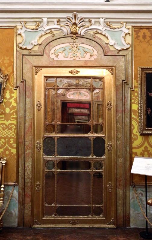 Imola, palazzo tozzoni, alcova 02 porta - Sailko - Imola (BO)