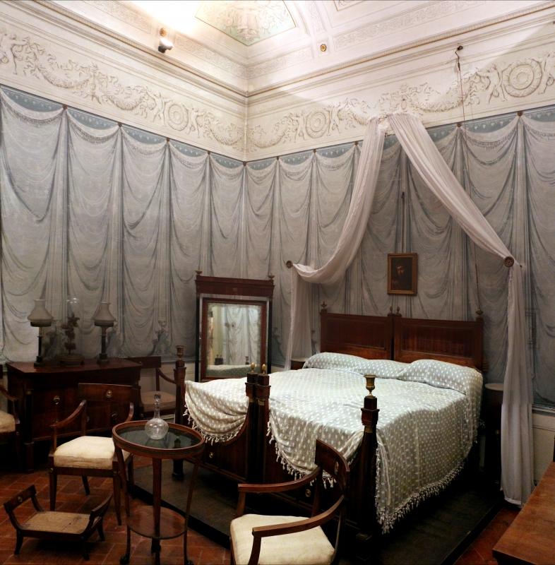 Imola, palazzo tozzoni, appartamento impero, stanza da letto 01 - Sailko - Imola (BO)