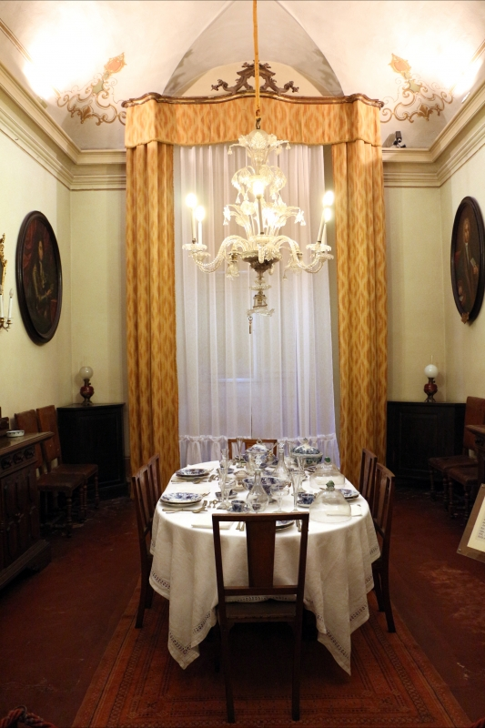 Imola, palazzo tozzoni, sala da pranzo, 01 - Sailko - Imola (BO)