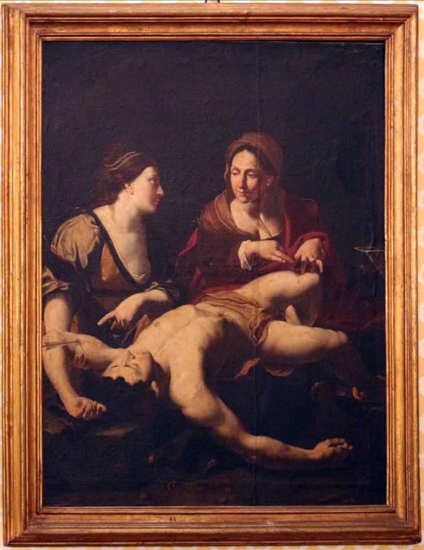 Pittore veneto (da regnier), san sebastiano curato da irene, xvii secolo - Sailko - Imola (BO)