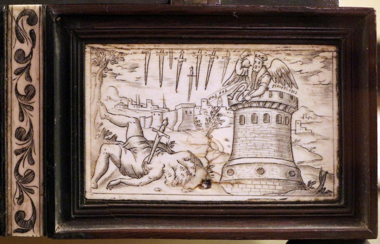 Cassetta in legno e avorio, 1850-1900 ca. 06 - Sailko - Imola (BO)