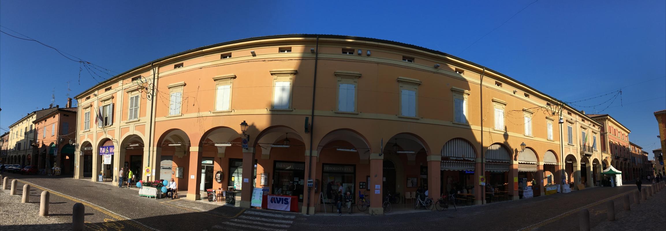 Palazzo Municipale Via della Libertà - FabioSchiavina - San Giorgio di Piano (BO)