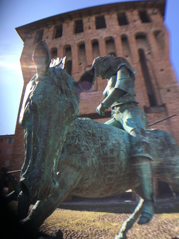 Porta Ferrara Cavallieri di rame 2 - FabioSchiavina - San Giorgio di Piano (BO)