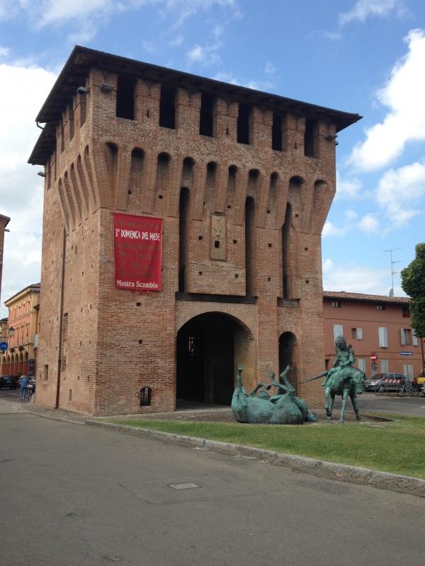Porta Ferrara angolo nord est - FabioSchiavina - San Giorgio di Piano (BO)