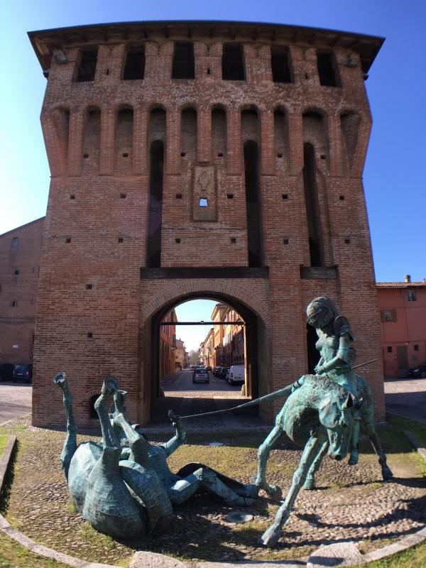 Porta Ferrara Cavallieri di rame - FabioSchiavina - San Giorgio di Piano (BO)