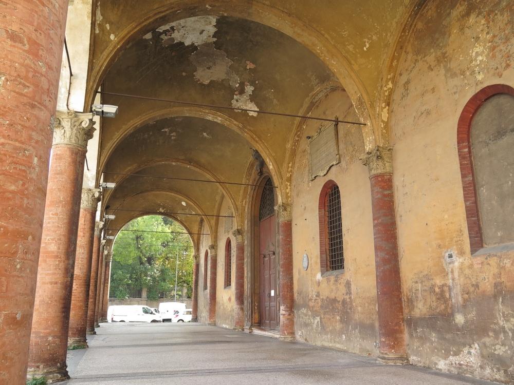 Bologna Chiesa Baraccano portico - GennaroBologna - Bologna (BO)