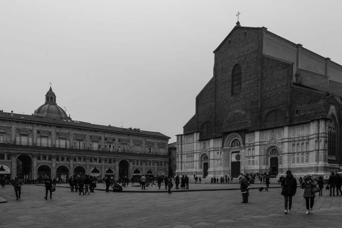 La basilica di san Petronio - Elisabetta Bignami - Bologna (BO)