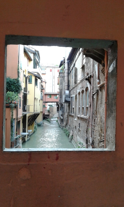 Finestrella via piella sul canale delle moline - Clodette662000 - Bologna (BO)