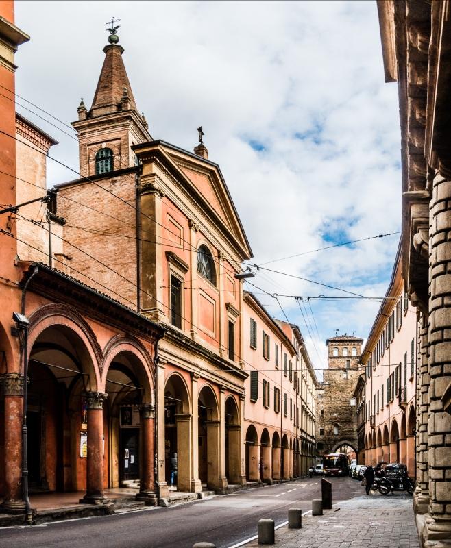 Scorci di Bologna - Via San Vitale - Vanni Lazzari - Bologna (BO)