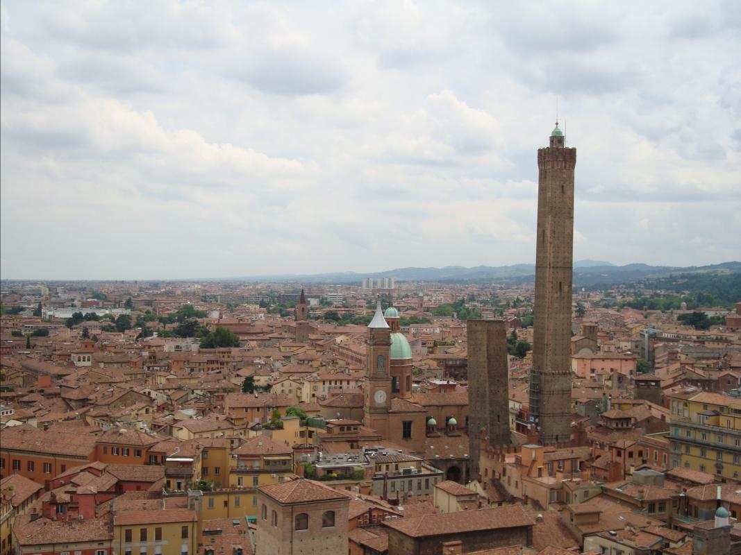 Bologna dall' alto - Lisavit - Bologna (BO)