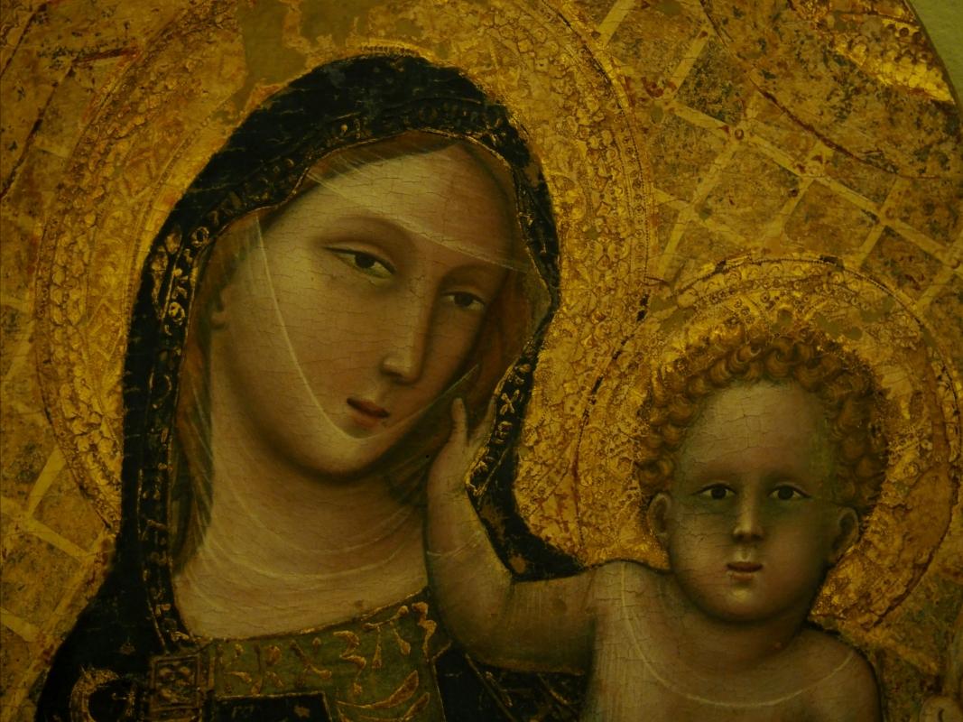 Museo Davia Bargellini - Madonna dei Denti (Vitale da Bologna) primo piano - MarkPagl - Bologna (BO)