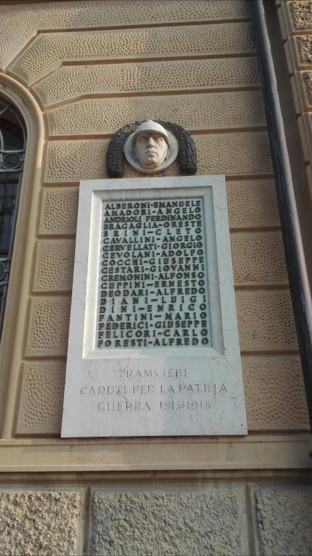 Omaggio ai tramvieri - Scheletropaffuto - Bologna (BO)
