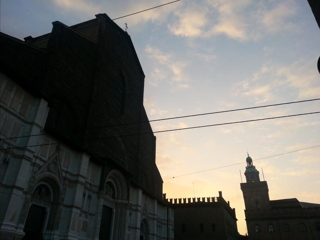 Tramonto su Piazza Maggiore - Elisa frizza - Bologna (BO)