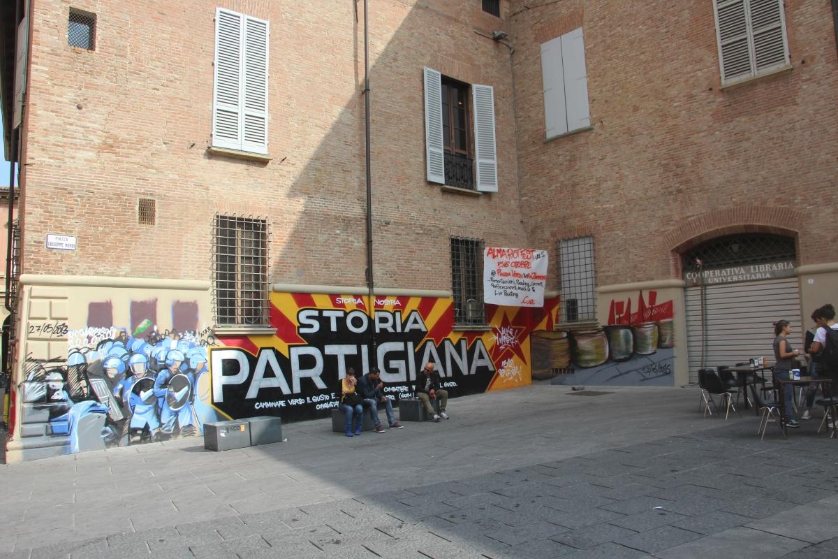 Murales di Piazza Verdi - Napster81 - Bologna (BO)