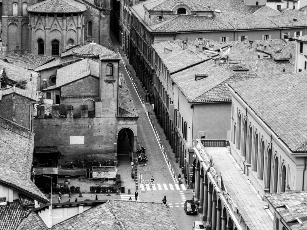 Piazza Verdi Bologna aerial view - Nicola Quirico - Bologna (BO)