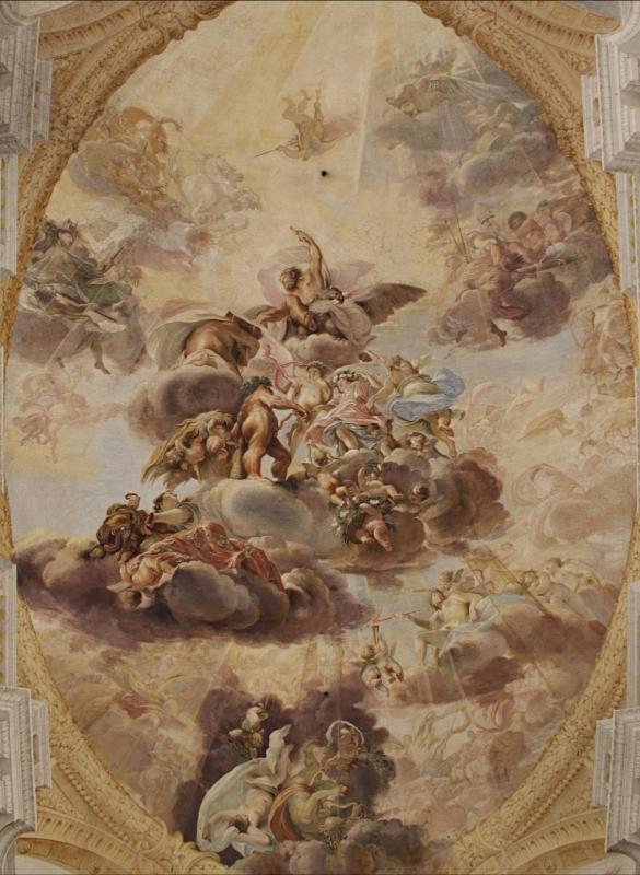 Palazzo Pepoli Campogrande Soffitti 5 - Walter manni - Bologna (BO)