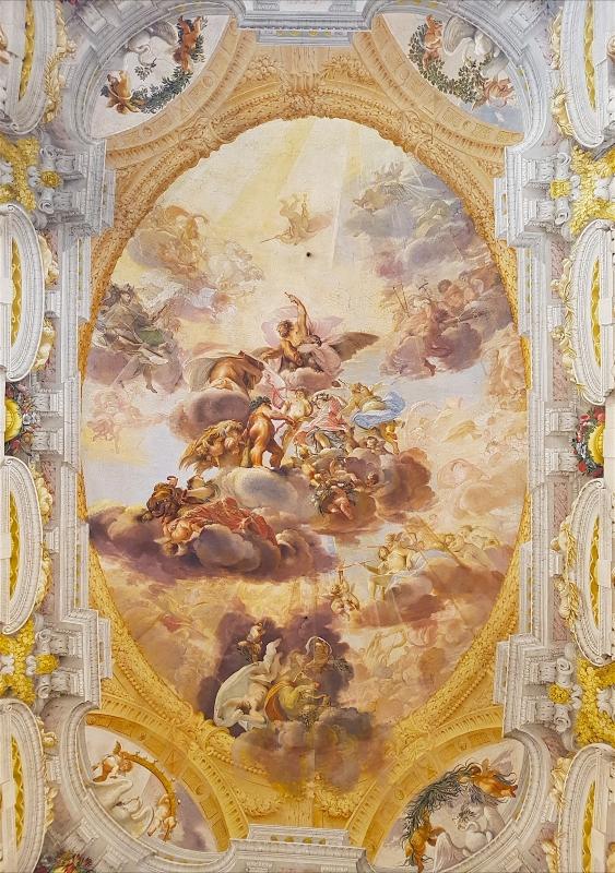 Palazzo Pepoli Campogrande - Salone d'onore affresco soffitto1 - Opi1010 - Bologna (BO)