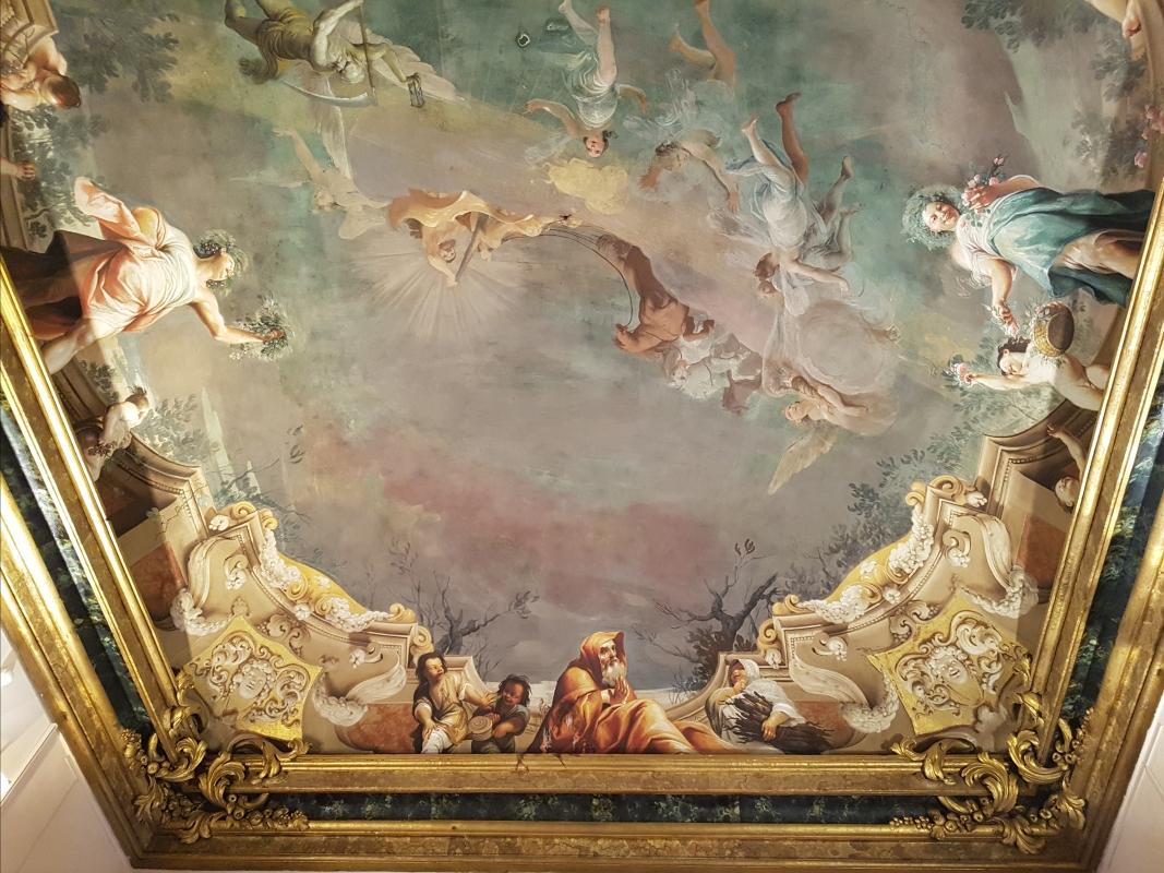 Palazzo Pepoli Campogrande - Sala delle Stagioni soffitto affrescato particolare - Opi1010 - Bologna (BO)
