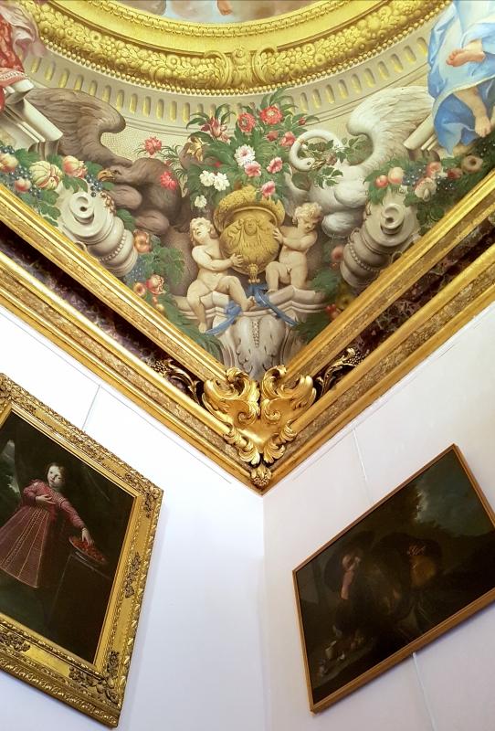 Palazzo Pepoli Campogrande - Sala Felsina soffitto angolo - Opi1010 - Bologna (BO)