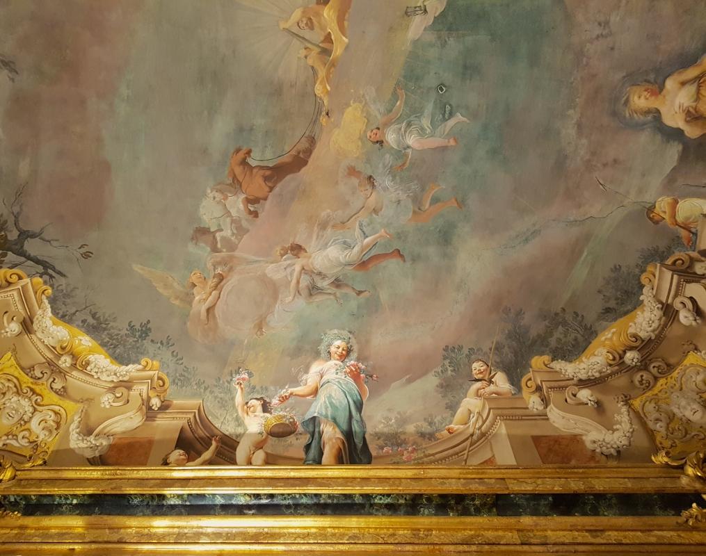 Palazzo Pepoli Campogrande - Sala delle Stagioni soffitto affrescato primavera - Opi1010 - Bologna (BO)