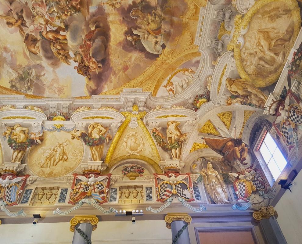 Palazzo Pepoli Campogrande - Salone d'onore particolare affresco soffitto1 - Opi1010 - Bologna (BO)