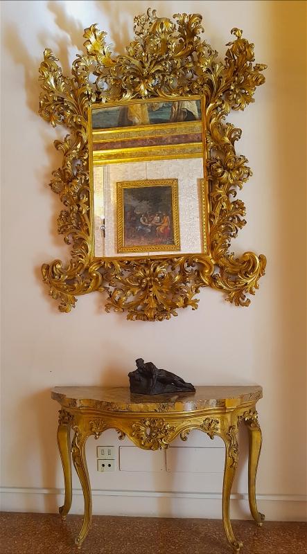 Palazzo Pepoli Campogrande - Sala dell'Olimpo nello specchio Abramo visitato dagli angeli ludovico carracci - Opi1010 - Bologna (BO)