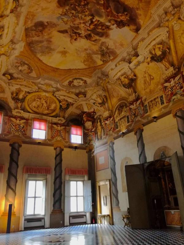 Palazzo Pepoli Campogrande sala d'onore verticale - CesaEri - Bologna (BO)