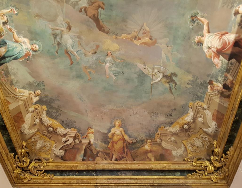 Palazzo Pepoli Campogrande - Sala delle Stagioni soffitto affrescato dettagli - Opi1010 - Bologna (BO)