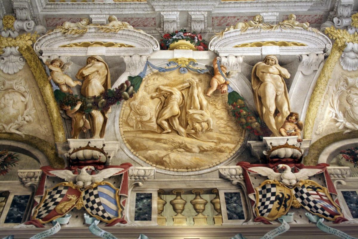 Palazzo Pepoli Campogrande - Soffitti 1 - Walter manni - Bologna (BO)