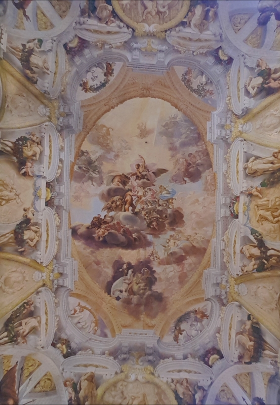 Palazzo Pepoli Campogrande - Salone d'onore affresco soffitto - Opi1010 - Bologna (BO)