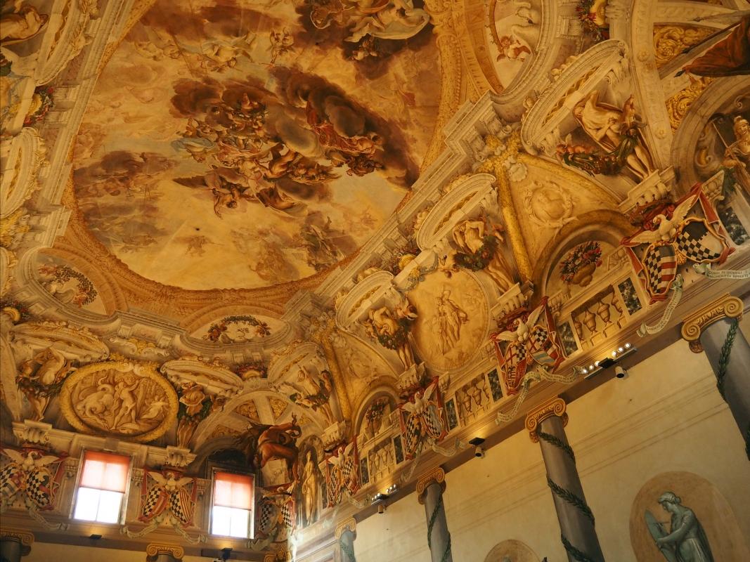 Palazzo Pepoli Campogrande - il soffitto del Salone d'onore - MarkPagl - Bologna (BO)