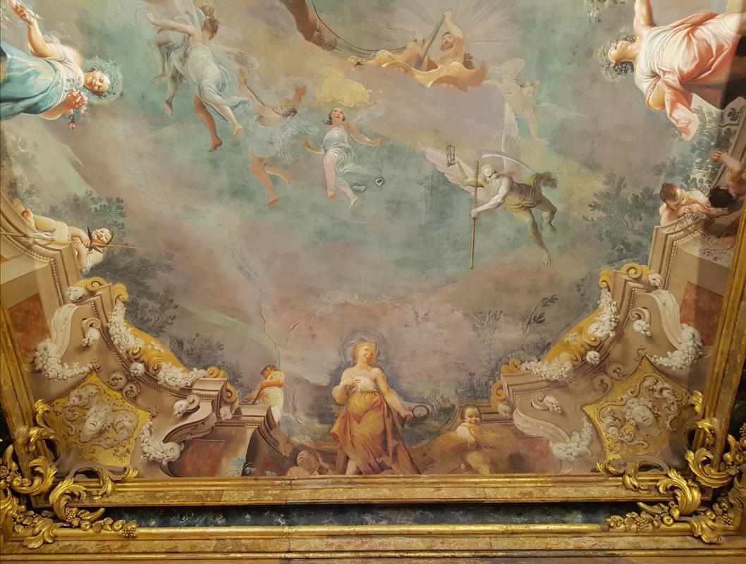Palazzo Pepoli Campogrande - Sala delle Stagioni soffitto affrescato dettaglio - Opi1010 - Bologna (BO)