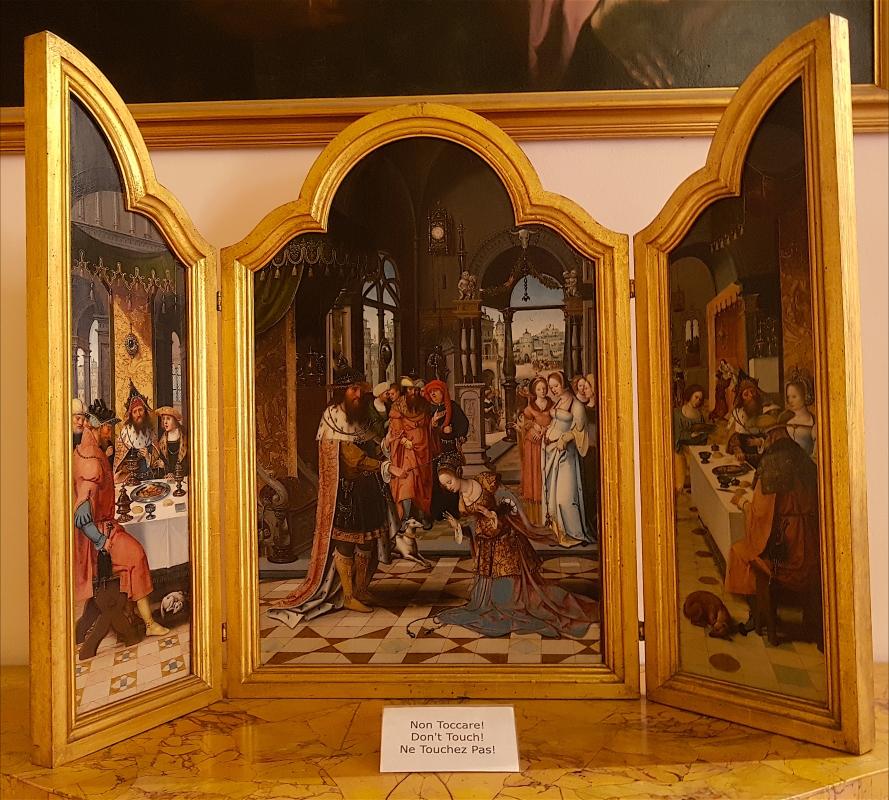Palazzo Pepoli Campogrande - Sala delle Stagioni Ester e Assuero Pittore manierista di Anversa del XVI secolo - Opi1010 - Bologna (BO)