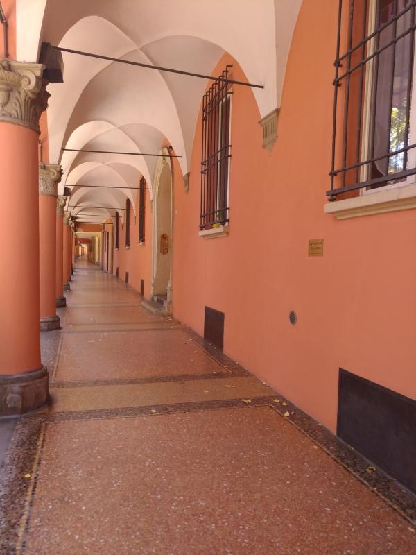 Portico Via Fondazza - Francesca Monti - Bologna (BO)