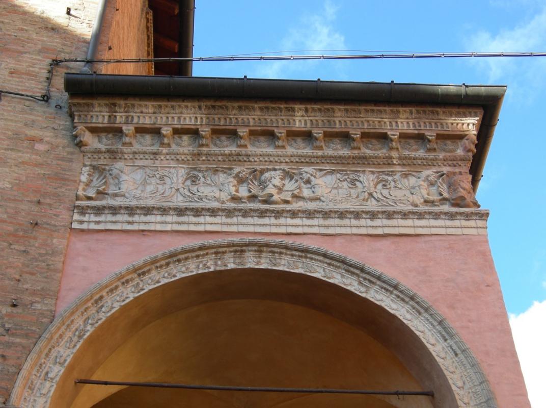 Portico di San Giacomo detail Bologna - Nicola Quirico - Bologna (BO)
