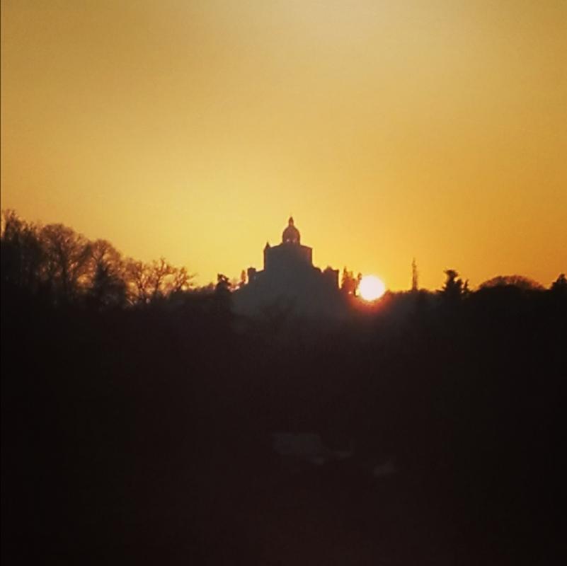 San Luca al tramonto - Valegirelli - Bologna (BO)