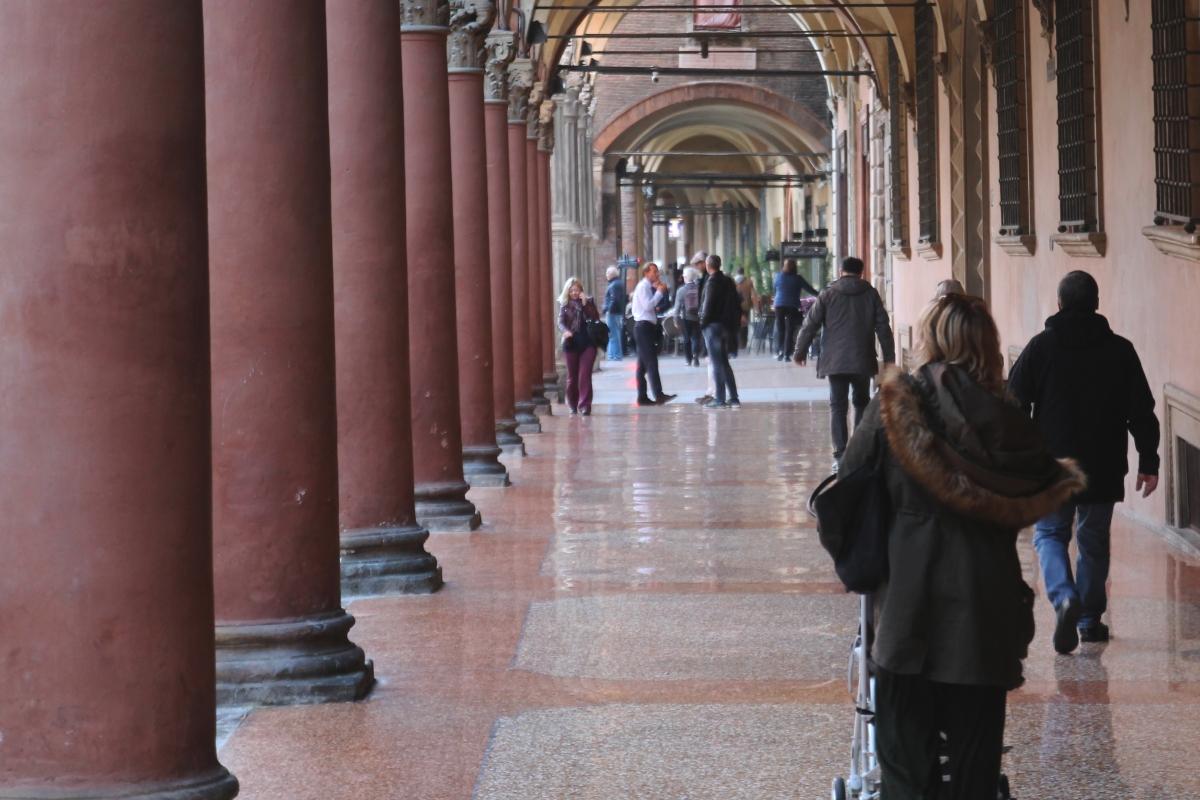 Portico di Piazza Santo Stefano - Matteo Santori - Bologna (BO)